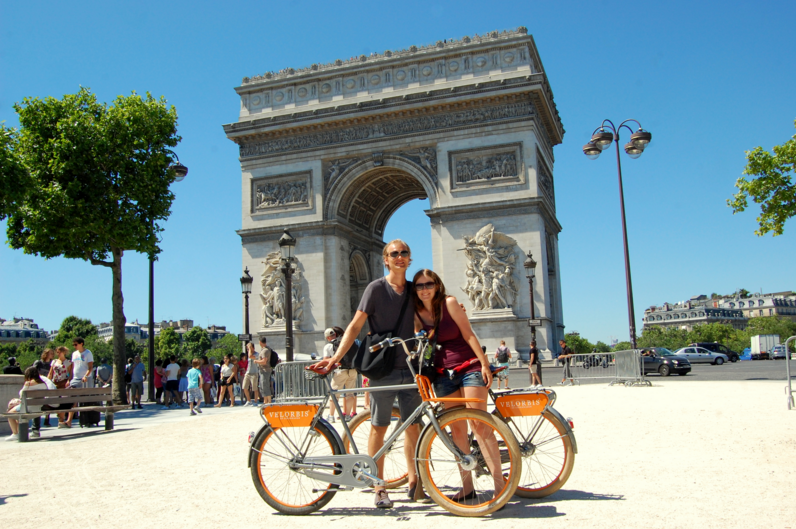 Cycling to Paris
